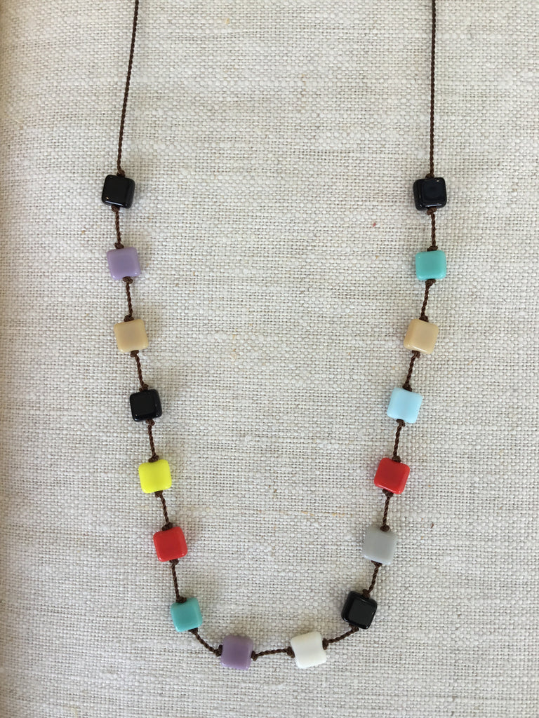 I. Ronni Kappos multi square necklaces