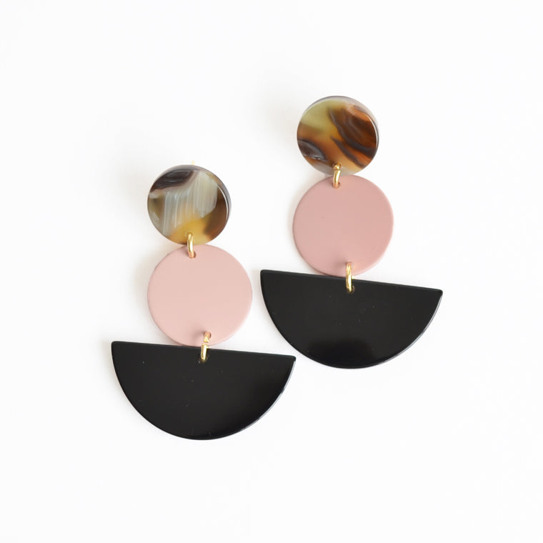 Rachel Comey Neale Earrings Pink