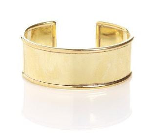 "Winifred Grace 1"" cuff with round edges"