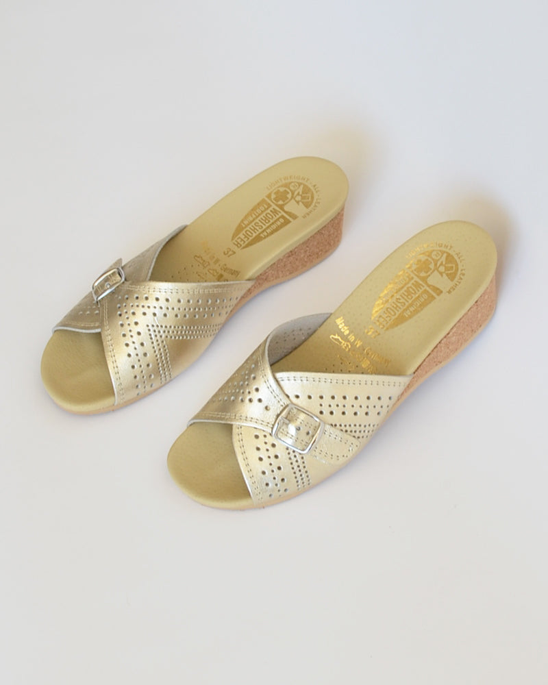 Worishofer Slip On Gold