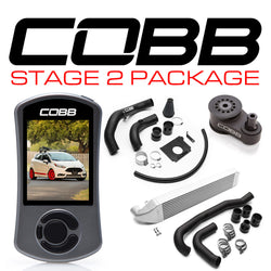 COBB Tuning Stage 2 Power Package: 2014 - 2017 Ford Fiesta ST