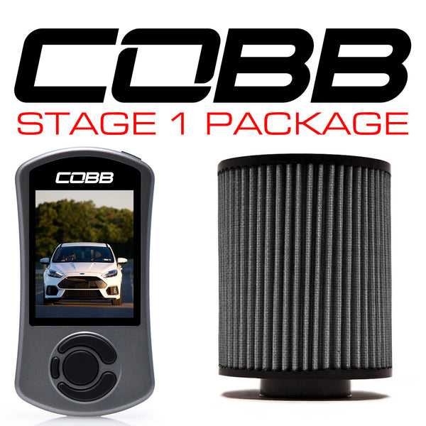 COBB Tuning Stage 1 Power Package: 2016 - 2018 Ford Focus RS