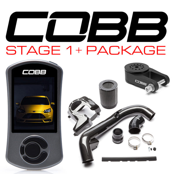 COBB Tuning Stage 1 + Carbon Fiber Power Package: 2013 - 2018 Ford Focus ST