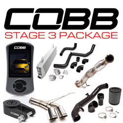 COBB Tuning Stage 3 Power Package: 2013 - 2018 Ford Focus ST