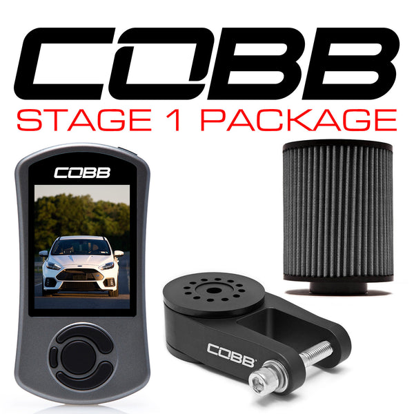 COBB Tuning Stage 1 Power Package w/ RMM: 2016 - 2018 Ford Focus RS