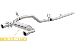 MagnaFlow Race Series Stainless Cat Back Exhaust System: 16+ Ford Focus RS 2.3L
