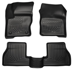 Husky Liners, Front & 2nd Seat Floor Liners, 2013 - 2017 Ford Focus ST