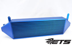 ETS Front Mount Intercooler 2016+ Ford Focus RS, No Stencil, Blue