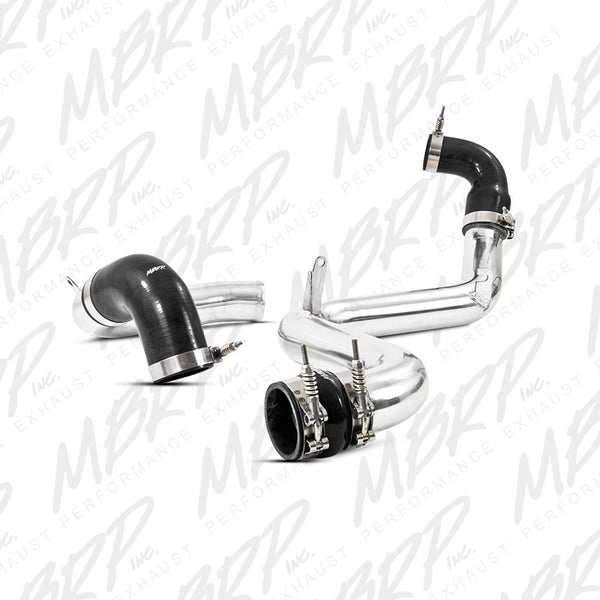 "2013 - 2017 Ford Focus ST 2.0L Ecoboost 2.5"" MBRP Hot & Cold Intercooler Pipe Kit"