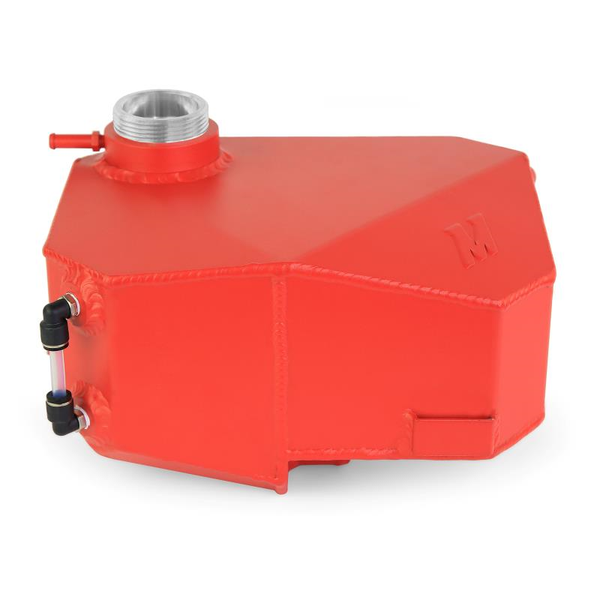 Mishimoto Aluminum Expansion Tank, Red: Ford Focus ST 2013 - 2018, Focus RS 2016 - 2018