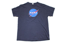 Vintage Navy Nasa Big Logo T-shirt