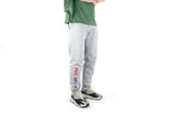 Retroflex Grey Rainbow Embroidered Joggers