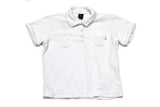 Vintage White Nike Court Towelling Polo