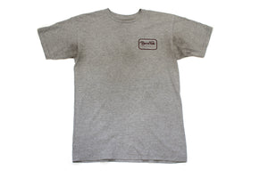 Grey Brixton Logo T-shirt