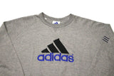 Vintage Grey Adidas Big Logo Sweatshirt