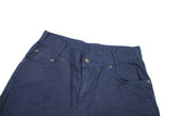 Vintage Navy YSL Pocket Logo Trousers (27)