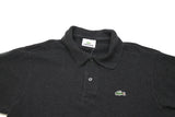 Vintage Dark Grey Lacoste Polo Shirt