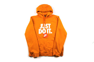 Orange Nike Just Do It Hoody