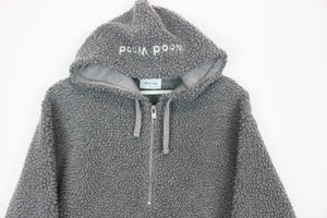 Vintage 90s Navy Fubu Sports Fleece Lined Puffer