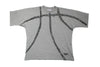 Vintage Grey Reebok Blacktop Basketball Print T-shirt