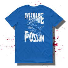 27th Ave. Awesome 'Possum T-shirt - Blue