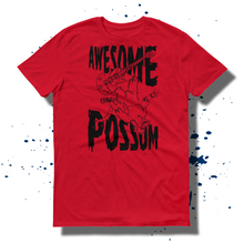 27th Ave. Awesome 'Possum T-shirt - Red