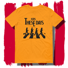 27th Ave. Kids these Days T-shirt - Gold