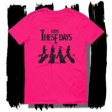 27th Ave. Kids these Days T-shirt - Hot Pink