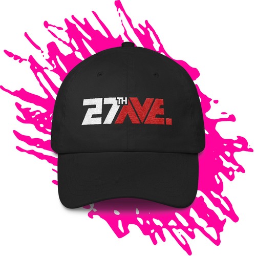 27th Ave. Ball Cap - Black