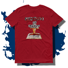 27th Ave. Bombs Is Power T-shirt - Red