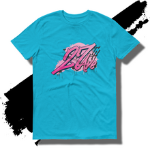 27th Ave. Graffiti Shirt - Caribbean Blue