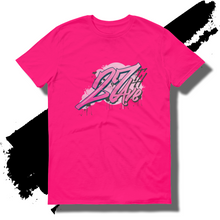 27th Ave. Graffiti Shirt - Hot Pink