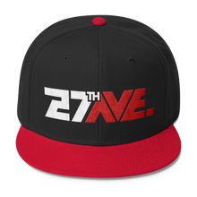 27th Ave. Boxy Snapback - Black/Red