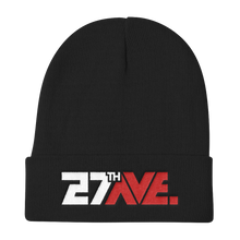 27th Ave. Knit Beanie - Black