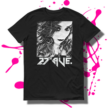 27th Ave. Mystery Girl T-shirt - Black