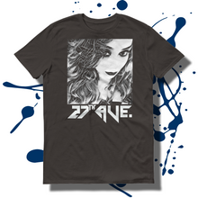 27th Ave. Mystery Girl T-shirt - Smoke