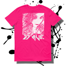 27th Ave. Mystery Girl T-shirt - Hot Pink