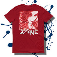 27th Ave. Mystery Girl T-shirt - Red