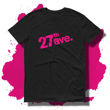 27th Ave. Stencil T-shirt - Black