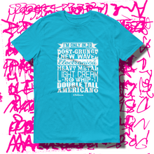 27th Ave. Specific Tastes T-shirt - Caribbean Blue