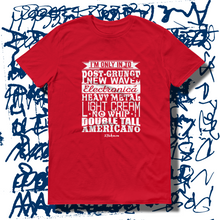 27th Ave. Specific Tastes T-shirt - Red