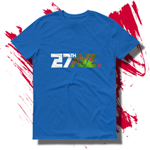 27th Ave. Tropical Depression T-shirt - Royal Blue