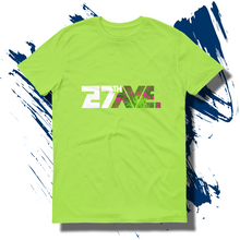 27th Ave. Tropical Depression T-shirt - Key Lime