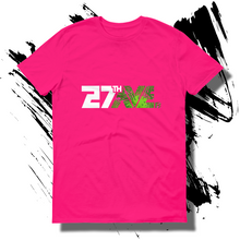 27th Ave. Tropical Depression T-shirt - Hot Pink