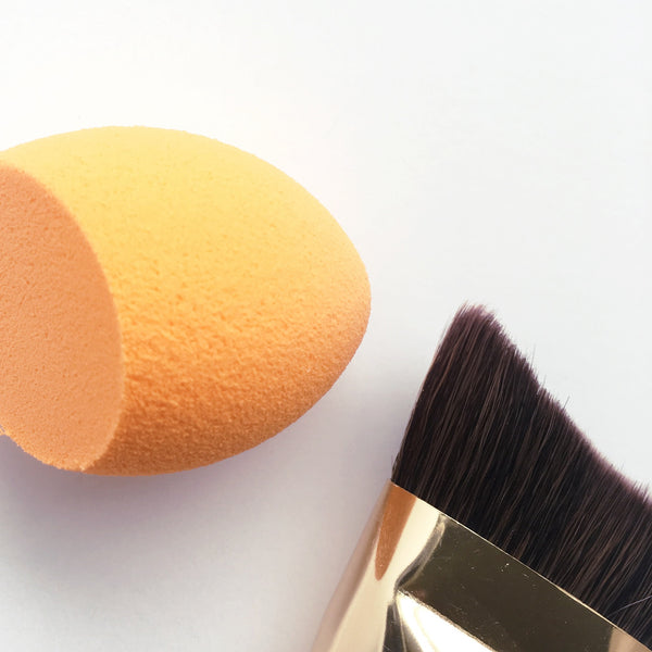 Foundation Brush and Sponge Duo