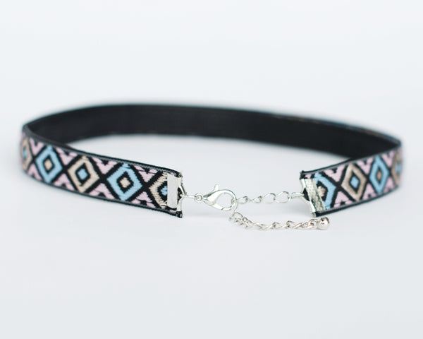 Colorful Bohmeian Choker