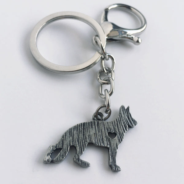 GSD Necklace - Keychain Duo