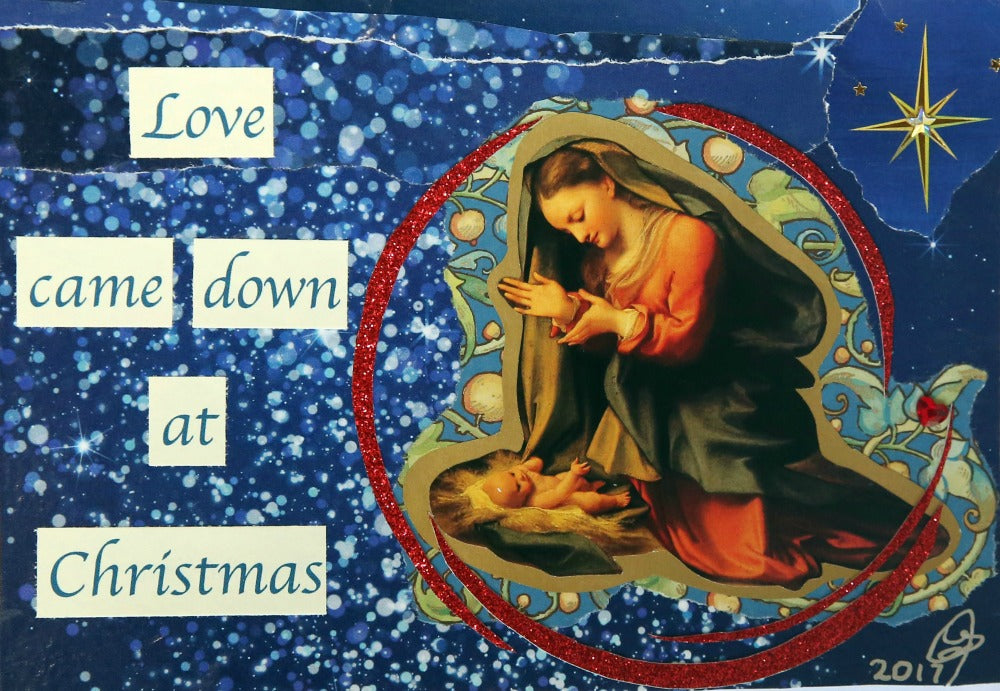 """Love Came Down at Christmas"" Christmas card set - 6 cards/box"