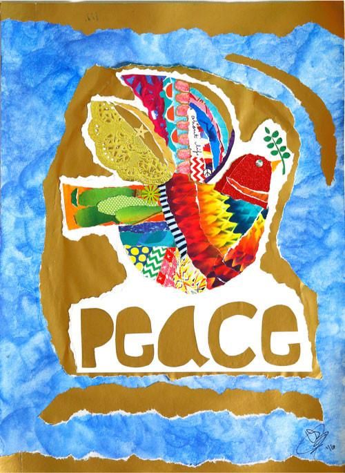 Peace w/message