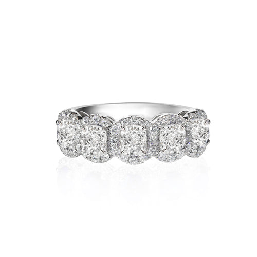 wedding d band carats ring w t asscher ct whitegold diamond topleftview platinum bands cut eternity